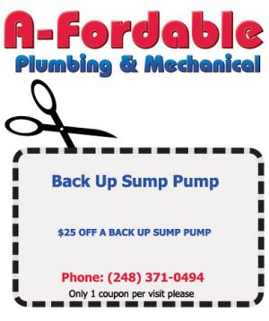 Back Up Sump Pump